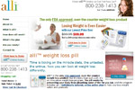 alli Weight Loss Pill &#8211; Save $40 Thumbnail