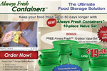 Always Fresh Containers – Free 10pc Set Thumbnail
