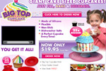 Big Top Cupcake &#8211; Free 3D Cookie Cutter Thumbnail