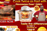 Flavorwave Turbo Oven – Cooks Twice As Fast Thumbnail