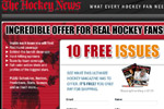 The Hockey News – 10 Free Issues Thumbnail