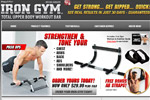 Iron Gym – Free Bonus Straps Included Thumbnail