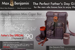 Max Benjamin – Mini Cigar Bar Thumbnail