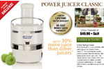 Power Juicer &#8211; 60 Day Money Back Guaranteed Thumbnail
