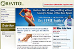 Revitol – Hair Removal Cream – 2 Free Bottles Thumbnail