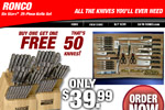 Ronco Knife Set &#8211; Buy 1 Get 1 Free Thumbnail