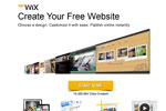 Wix – Create A Free Website Thumbnail
